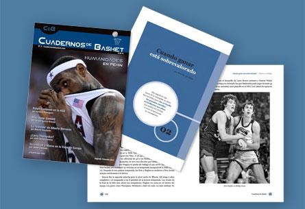 """Revista """"Cuadernos de Basket"""""""