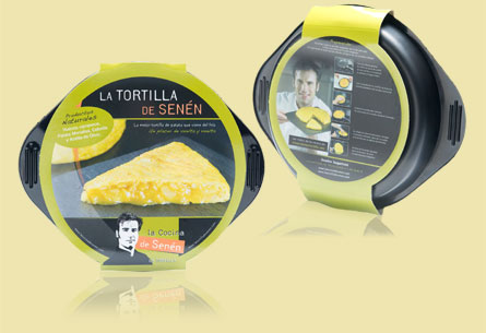 """Packaging """"La Tortilla de Senén"""""""